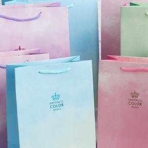 彩色手提紙袋